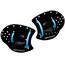 Swimrunners Hand Paddles Black/Blue